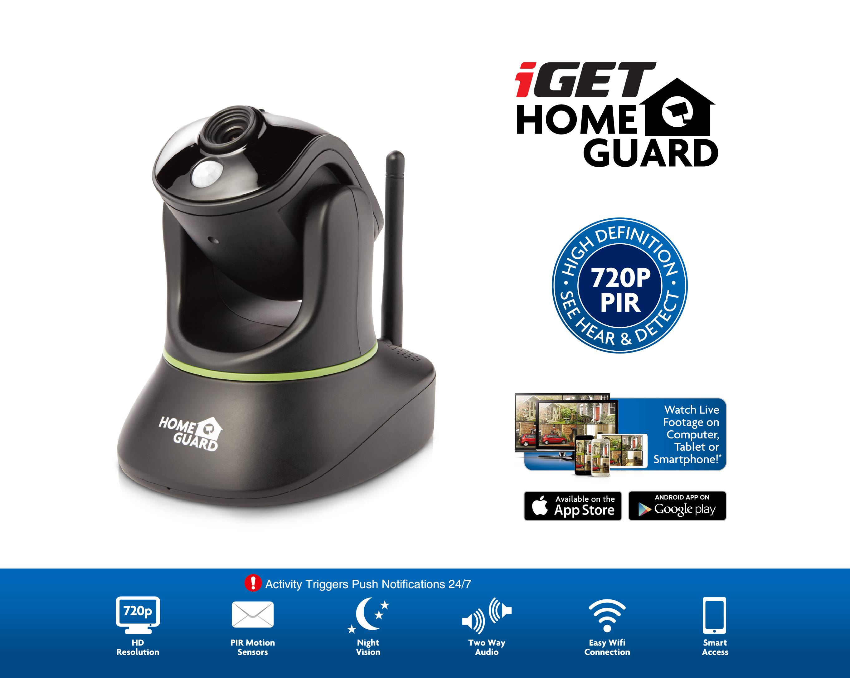 iGET HOMEGUARD HGWIP720