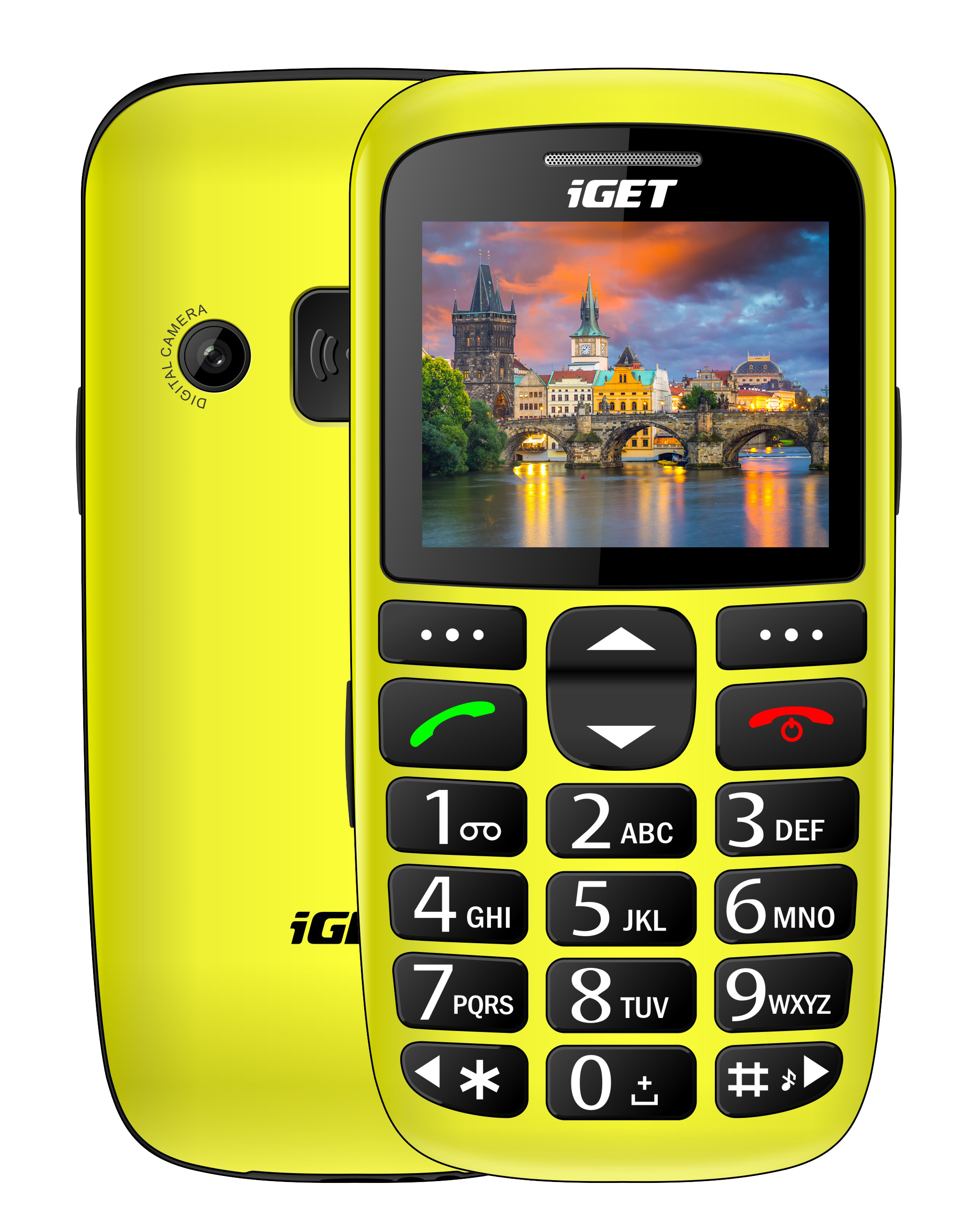 iGET SIMPLE D7 Yellow