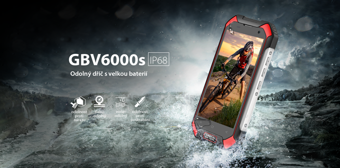 iGET BLACKVIEW GBV6000 Red
