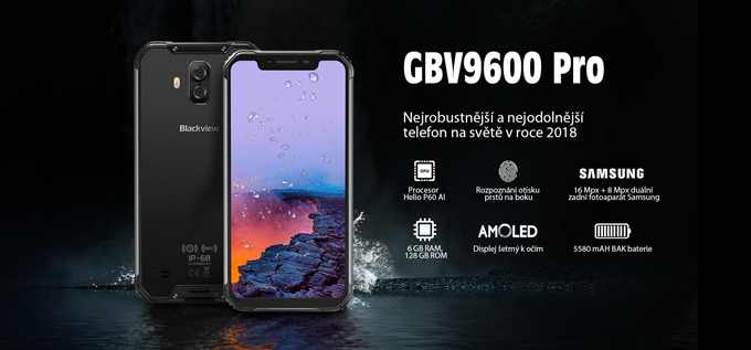 iGET BLACKVIEW GBV9600 Pro Black