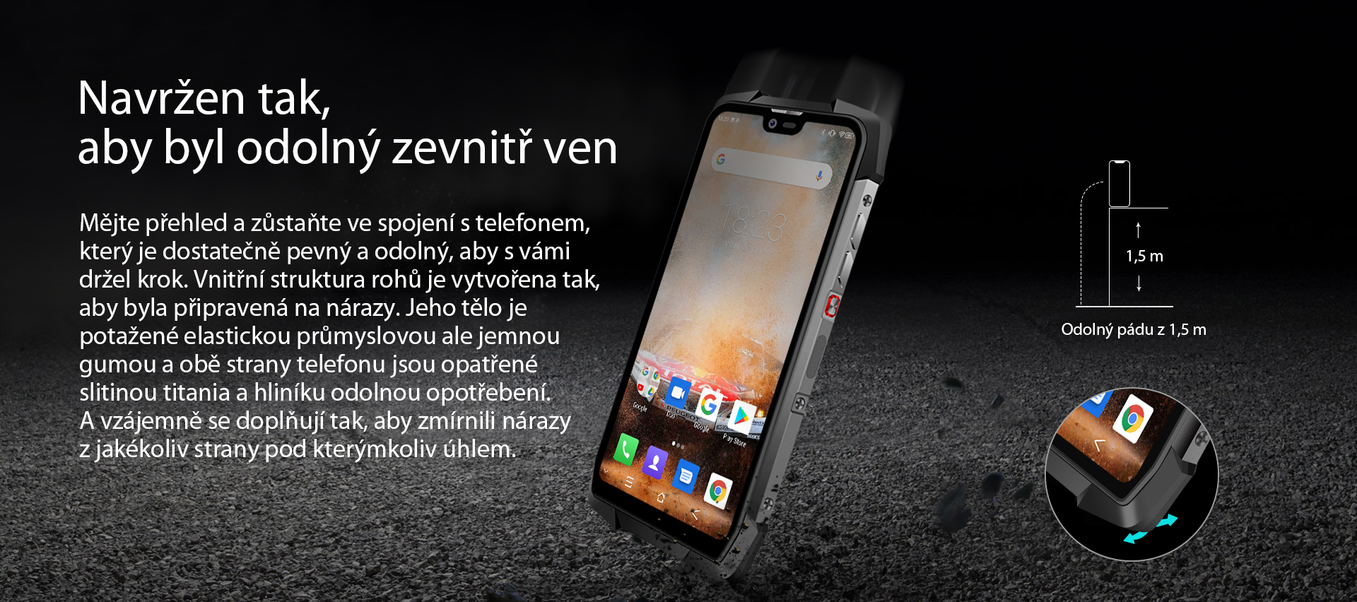 iGET BLACKVIEW GBV9700 Pro Black