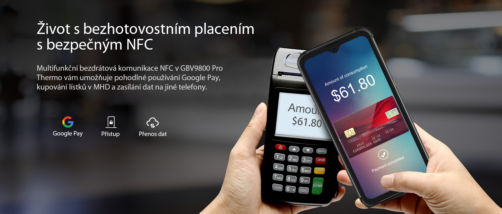iGET BLACKVIEW GBV9800 Pro Thermo