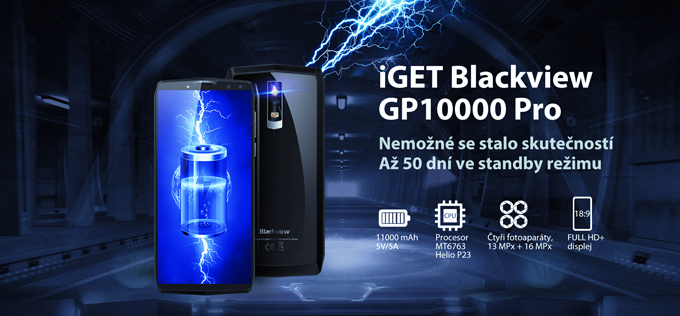 iGET BLACKVIEW GP10000 Pro